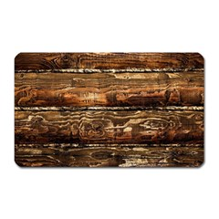 Dark Stained Wood Wall Magnet (rectangular) by trendistuff