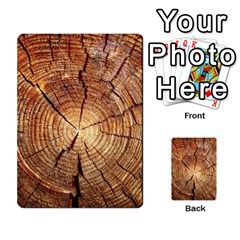 CROSS SECTION OF AN OLD TREE Multi-purpose Cards (Rectangle)  by trendistuff