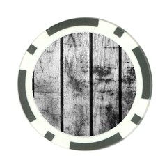 Black And White Fence Poker Chip Card Guards by trendistuff