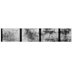 Black And White Fence Flano Scarf (large)  by trendistuff