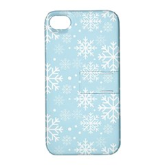 Frosty Apple Iphone 4/4s Hardshell Case With Stand by Kathrinlegg