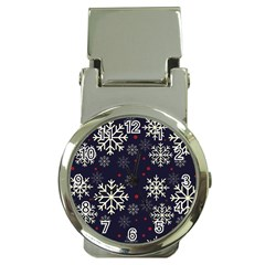 Snowflake Money Clip Watches by Kathrinlegg