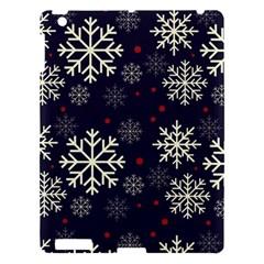 Snowflake Apple Ipad 3/4 Hardshell Case by Kathrinlegg