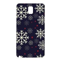 Snowflake Samsung Galaxy Note 3 N9005 Hardshell Back Case by Kathrinlegg