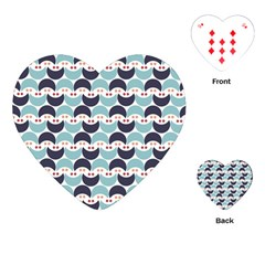 Moon Pattern Playing Cards (Heart)