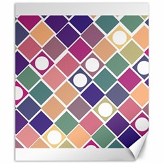 Dots And Squares Canvas 20  X 24   by Kathrinlegg