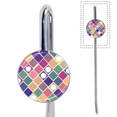 Dots And Squares Book Mark by Kathrinlegg