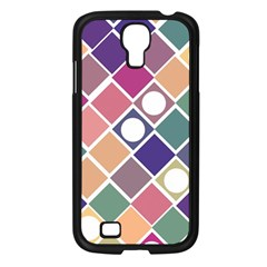 Dots And Squares Samsung Galaxy S4 I9500/ I9505 Case (black) by Kathrinlegg