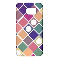 Dots And Squares Galaxy S6 by Kathrinlegg