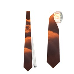 Sunset Over Clouds Neckties (two Side)  by trendistuff