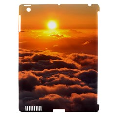 Sunset Over Clouds Apple Ipad 3/4 Hardshell Case (compatible With Smart Cover) by trendistuff