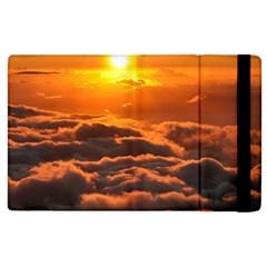Sunset Over Clouds Apple Ipad 2 Flip Case by trendistuff