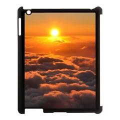 Sunset Over Clouds Apple Ipad 3/4 Case (black) by trendistuff