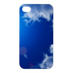 Sun Sky And Clouds Apple Iphone 4/4s Hardshell Case by trendistuff