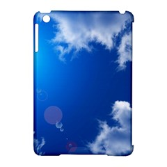 Sun Sky And Clouds Apple Ipad Mini Hardshell Case (compatible With Smart Cover) by trendistuff