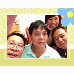Ban Xua 2 By Phuong Duong   Wall Calendar 11  X 8 5  (12 Months)   Zw83xilr8jpv   Www Artscow Com Month