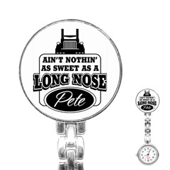 Long Nose Pete Stainless Steel Nurses Watch by allthingseveryday