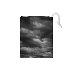 Storm Clouds 1 Drawstring Pouches (small)  by trendistuff