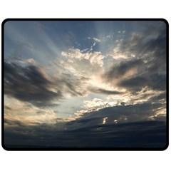 Heaven Rays Double Sided Fleece Blanket (medium)  by trendistuff