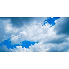 Cumulus Clouds You Are Invited 3d Greeting Card (8x4)