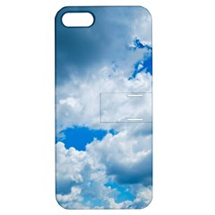 Cumulus Clouds Apple Iphone 5 Hardshell Case With Stand by trendistuff