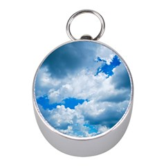 CUMULUS CLOUDS Mini Silver Compasses by trendistuff