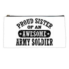 Proud Army Soldier Sister Pencil Case by allthingseveryday