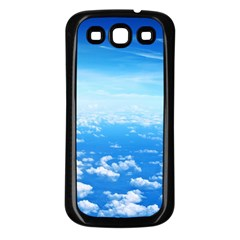 CLOUDS Samsung Galaxy S3 Back Case (Black)