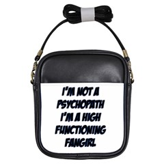 High Functioning Fangirl Girls Sling Bags by girlwhowaitedfanstore