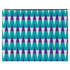 Peaks pattern Cosmetic Bag (XXXL) by LalyLauraFLM