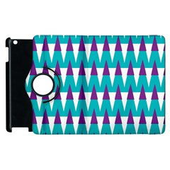 Peaks Pattern Apple Ipad 3/4 Flip 360 Case by LalyLauraFLM