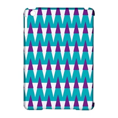 Peaks Pattern Apple Ipad Mini Hardshell Case (compatible With Smart Cover) by LalyLauraFLM