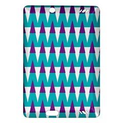 Peaks pattern Kindle Fire HD (2013) Hardshell Case by LalyLauraFLM