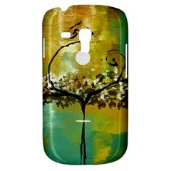 She Open s To The Moon Samsung Galaxy S3 Mini I8190 Hardshell Case by theunrulyartist