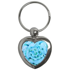 Blue Flower Key Chains (heart)  by BubbSnugg