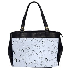Water Drops 2 Office Handbags (2 Sides)  by trendistuff