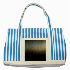 Water Drops 1 Striped Blue Tote Bag  by trendistuff