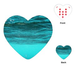 Underwater World Playing Cards (heart)  by trendistuff