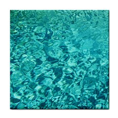 Turquoise Water Tile Coasters by trendistuff