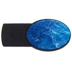 Pacific Ocean Usb Flash Drive Oval (4 Gb)  by trendistuff