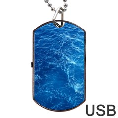 PACIFIC OCEAN Dog Tag USB Flash (One Side) by trendistuff