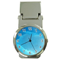 Light Turquoise Ice Money Clip Watches by trendistuff