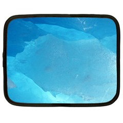 Light Turquoise Ice Netbook Case (xxl)  by trendistuff