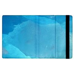 Light Turquoise Ice Apple Ipad 2 Flip Case by trendistuff