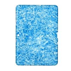 Blue Ice Crystals Samsung Galaxy Tab 2 (10 1 ) P5100 Hardshell Case  by trendistuff