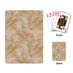 Tan Marble Playing Card by trendistuff