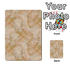 Tan Marble Multi Purpose Cards (rectangle)  by trendistuff