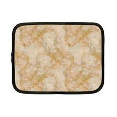 Tan Marble Netbook Case (small)  by trendistuff