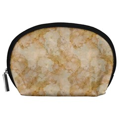 Tan Marble Accessory Pouches (large)  by trendistuff