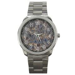 Rusty Stone Sport Metal Watches by trendistuff